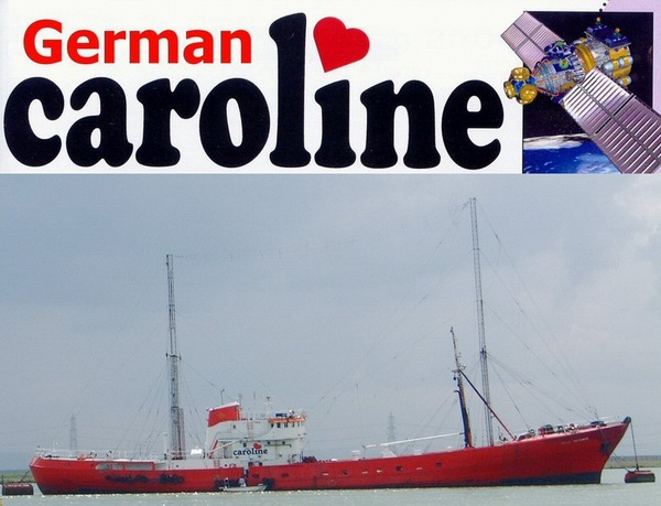 German Caroline - German listeners supporting Europe's First Album Station - Radio Caroline